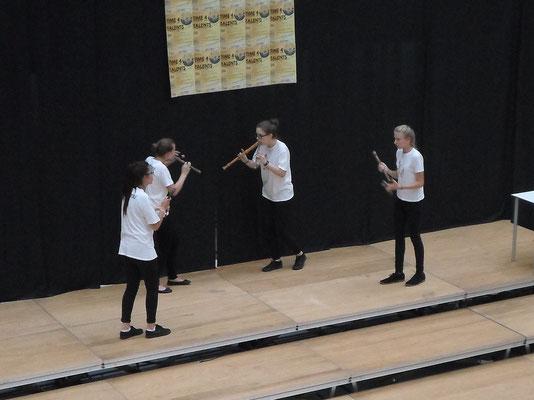 "Das Flötenquartett ""Flauto Mortale"""