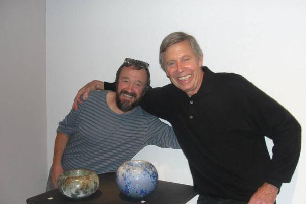con Ramon Fort, mi primer profesor de ceramica
