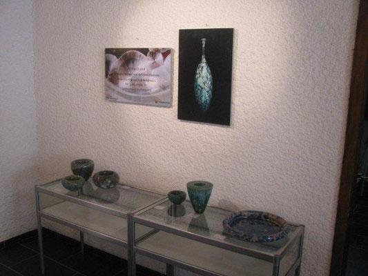 """Leukerbad, Suiza, 2014, Expo """"Magie der Farben"""" con Ursula Fattorini y Gisela Gredig"""