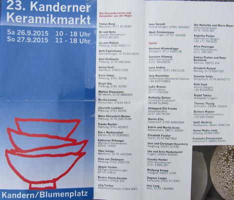 Feria pequena y fina, a 20 km de la frontera Alemania-Suiza