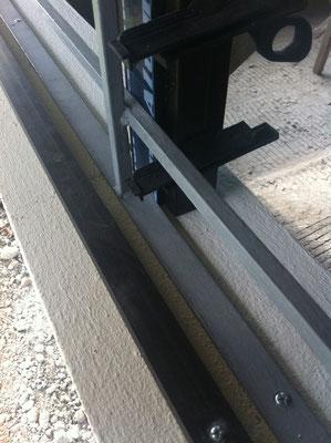von Aussen nach innen: Rahmen für Fliegengitter/ Einbruchschutz Gitter/ Rahmen Jalousie/