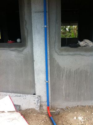 Hauseinfürung Hauptstromkabel