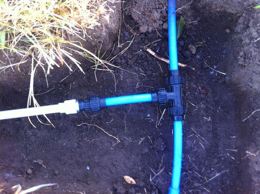 Anschluss PPR Wasserleitung an Zuleitung