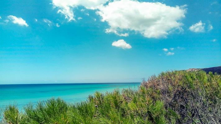 пляж в Санта Маргерита ди Пула