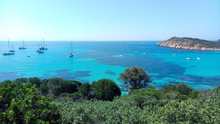 пляж Туэрэдда. Сардиния. Tuerredda beach. Sardinia