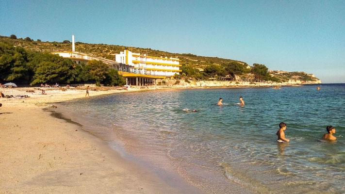 пляж Каламоска, Кальяри - Calamosca beach Cagliari