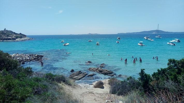 пляж Пунта Молентис, Вилласимиус