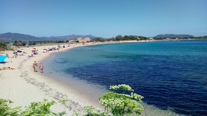 Нора. Пляжи Сардинии