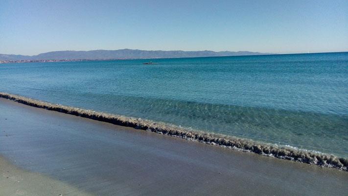 пляж Поэтто, Кальяри - Poetto beach Cagliari