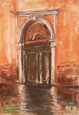 On The Way In Venice 2019, Old Door