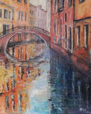 Venice Reflections Nr. 5, Öl_Lwd. 81x65cm