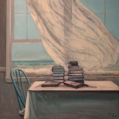 Sea Breeze   80x80cm Öl_Lwd.