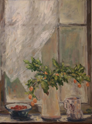 Window Nr. 4 , Summer Öl_Lwd. 60x80cm