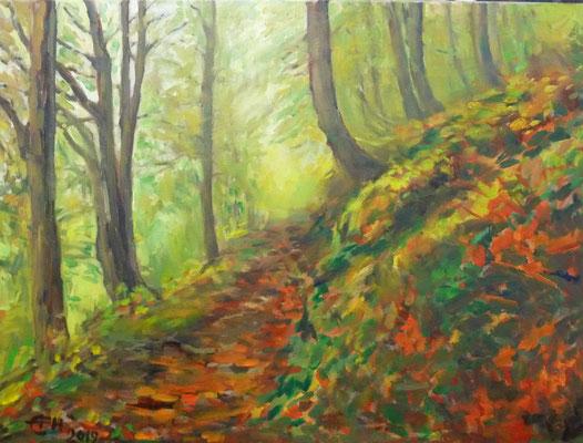 Autumn, 60x80cm Öl_Lwd.