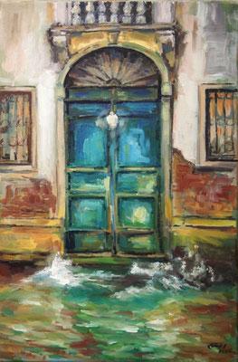 Venice by Night Nr.2, Öl_Lwd.40x60cm