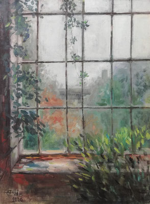 Window,  60x80cm Öl_Lwd.