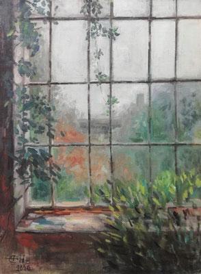 Window,  60x80cm Öl_Lwd.
