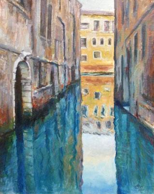 Venice Reflections Nr.3, Öl_lwd.81x65cm
