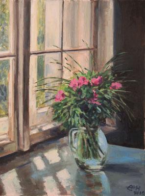 Window Nr. 6, Peonies Öl_Lwd.60x80cm