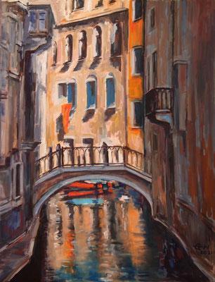 Summer In Venice Nr.2  Öl_Lwd.70x90cm