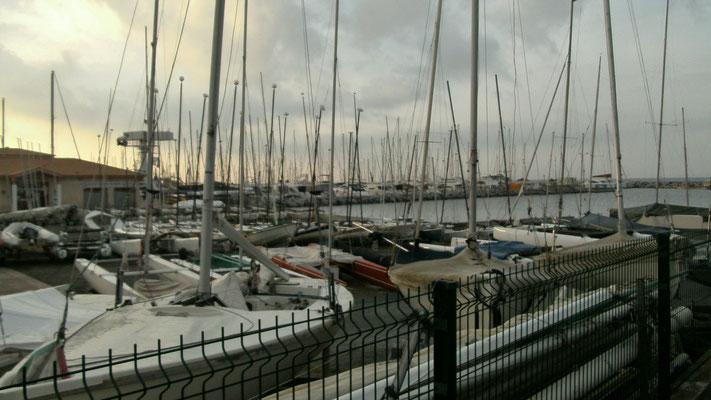 Hafen von Saint Raphael