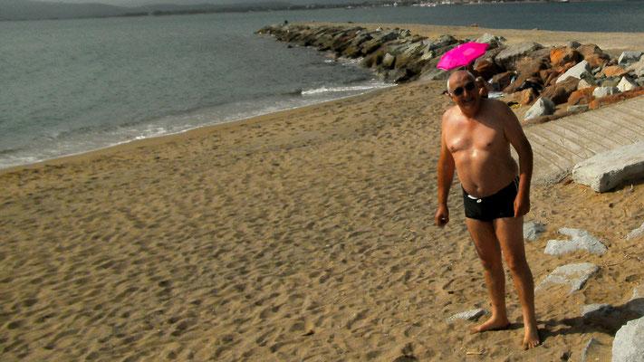 Chnuschti am Strand