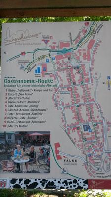 Gastronomieführer und Stadtplan Schmallenberg