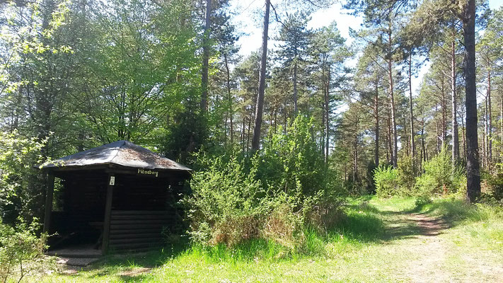 Schutzhütte am Hönneberg
