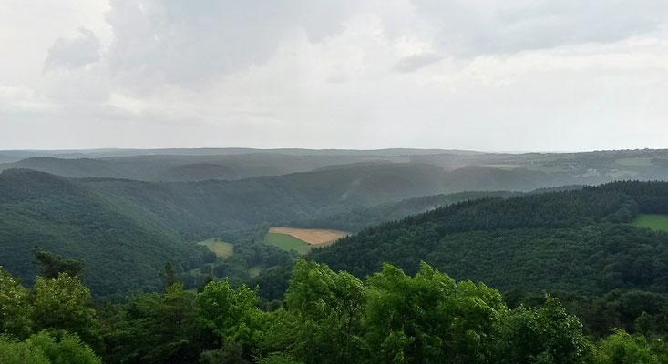Blick vom Krawutschketurm