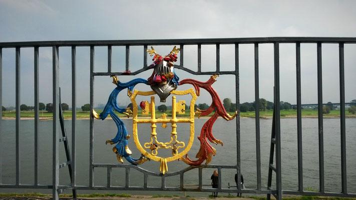 Uerdinger Stadtwappen, alne unabhängig, heute Stadtteil von Krefeld