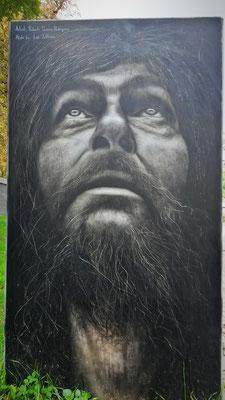 Mindestens 1,50 Meter hohes Portrait