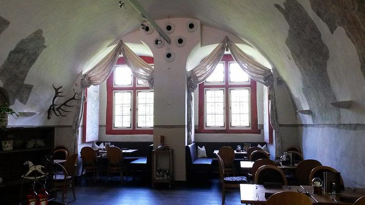 Gewölbekeller der Schloß-Schenk: zur Adventszeit auch eine kultige Location