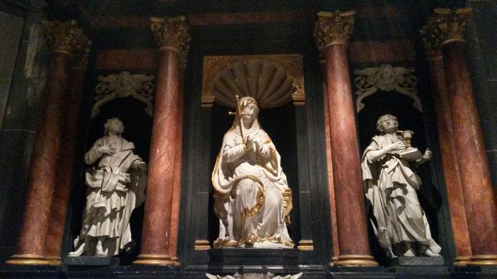 In der Kirche st. Lambertus