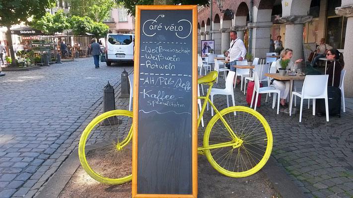 Café Velo, wie passend