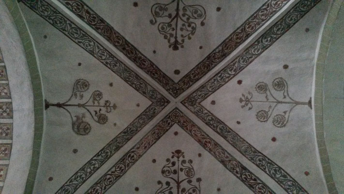 Deckenmalerei Dorfkirche