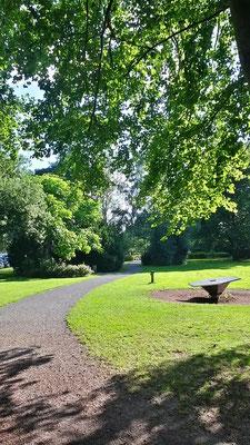 Park bei Burg Wissem