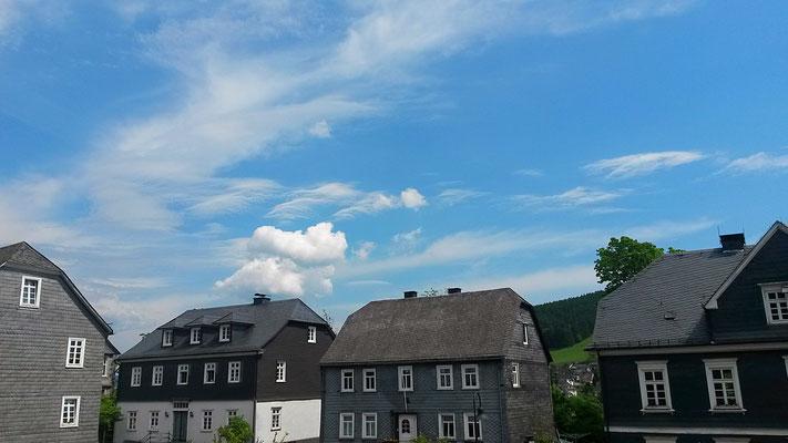 Wolkenbilder in der Oberstadt