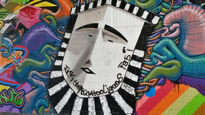 Graffiti Fleher Brücke 3