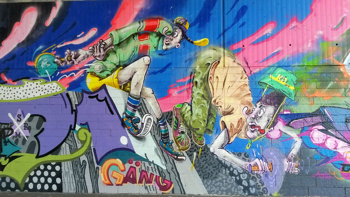 Graffiti Fleher Brücke 1