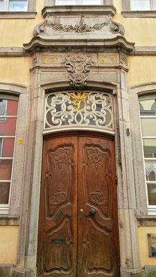 Historische Eingangstüre 248 Jahre alt