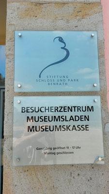 Hier gibt es Schloßkarten, Museumskarten und Kombikarten