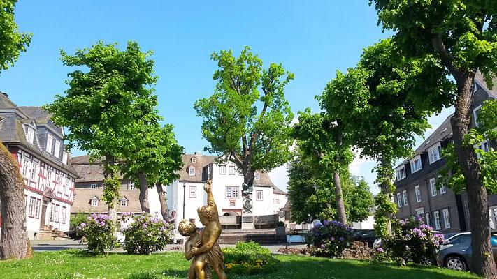 Goethestrasse 1 stiller Platz in der Bad Berleburger Altstadt