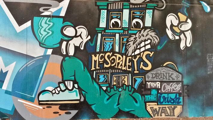 Open Streetart auf dem Weg zur Margarethenhöhe