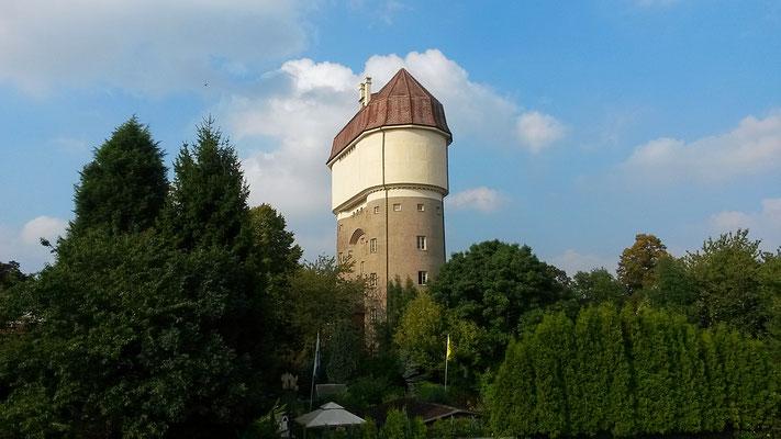 """Wasserturm Eisenbahnsiedlung bekannt aus der Fernsehdokumentation """"Harz aber herzlich"""""""