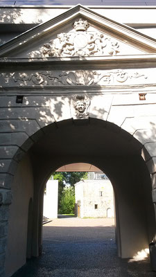 Vorburg Burg Wissem