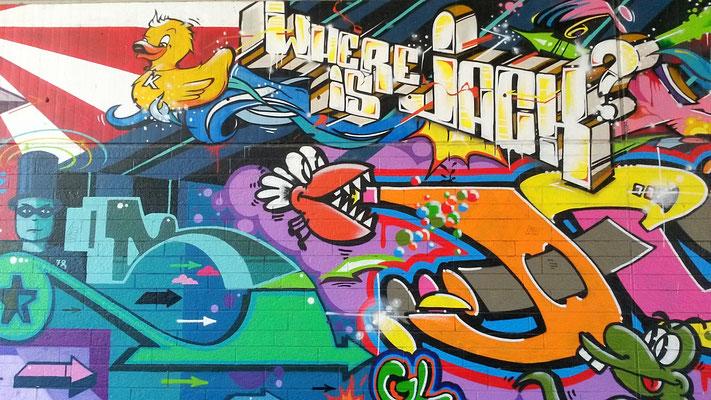 Graffiti Fleher Brücke 2