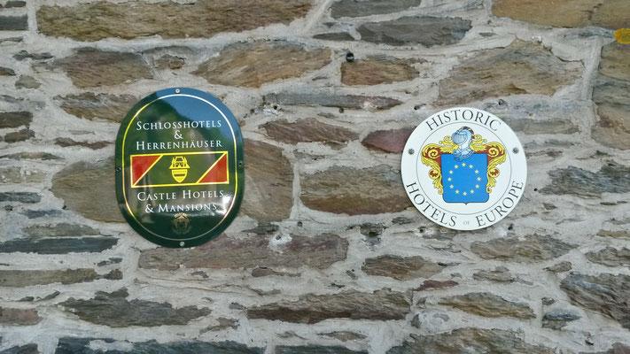 Historische Mauern, historische Gasthäuser