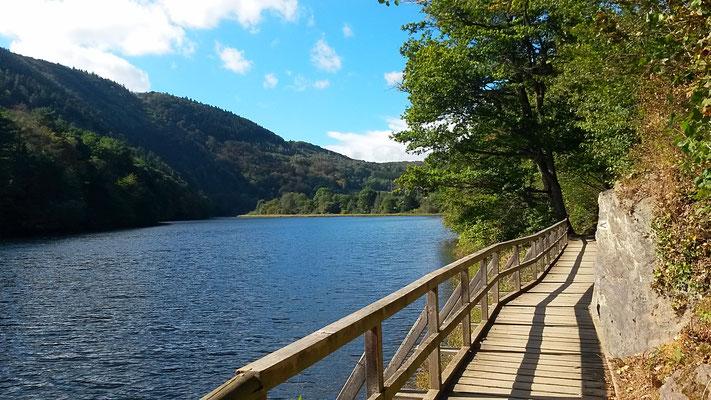 Wasserwege und Holzstege