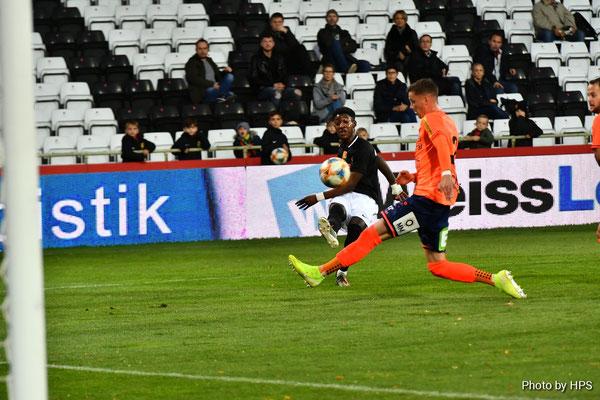 Der Youngster Muhammed Cham Saracevic brachte nach seiner Einwechslung noch Schwung in die Partie