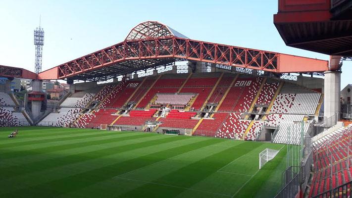 Im Stadio Nereo Rocco spielten die österreichische U21 Mannschaft und gewann gegen Serbien